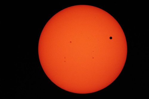 Photo of Venus Transit - Dennis Ritz -5 Jun 2012 - SDAA