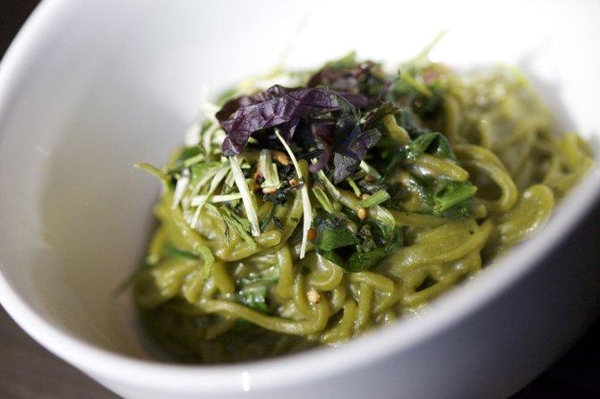 Uni Green Tea Soba Noodles