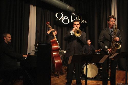 John Reynolds Quintet. Photo by TOM HARTEN
