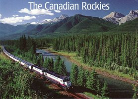 The Canadian Transcontinental Train trip is way up on the list