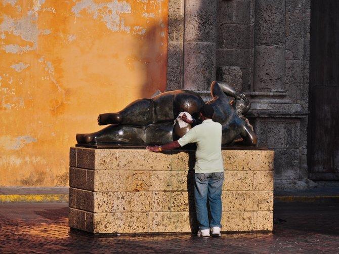 Morning Bath Time - Cartagena, Columbia