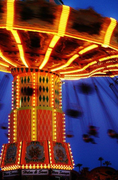 Fair Rides at Night