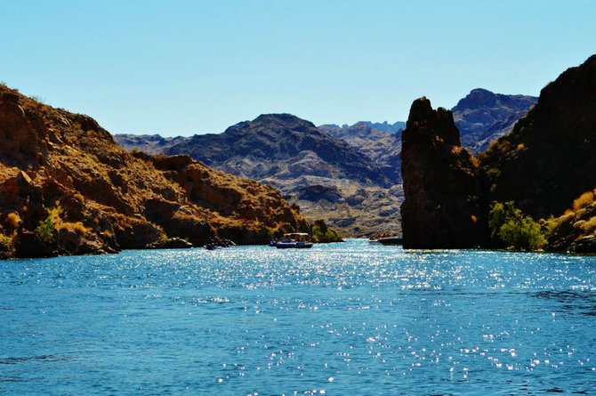Colorado River near Laughlin