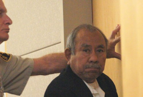 Corazon Paulino Flores pleads not guilty. Photo Bob Weatherston