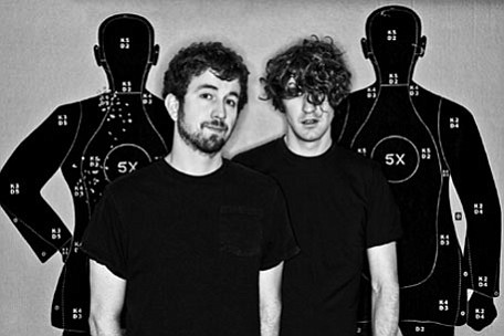 Noise-rock duo Japandroids play Casbah on Saturday.