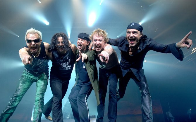 Heavy-metal Scorpions sting Valley View Casino Center on Wednesday.
