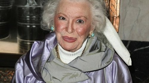 Ann Rutherford in California in 2010.