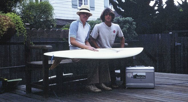 Chris O'Rourke and Kirk Lee Aeder, spring 1979