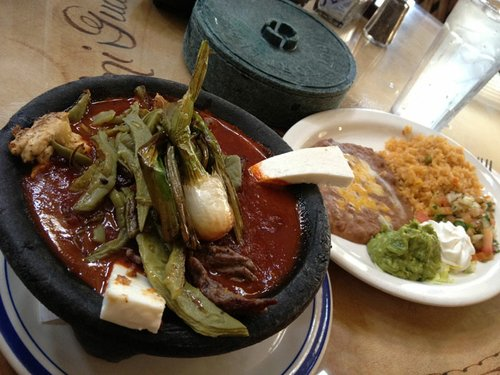El Molcajete at Mi Guadalajara in Escondido