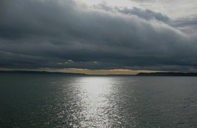 Puget Sound. The atmosphere dwarfs all else.