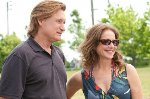 Proud parents Bill Pullman and Debra Winger.