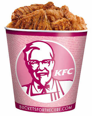 Didn't anyone stop to think that KFC makes a good portion of its income selling breasts?