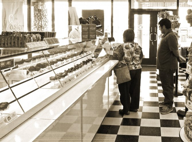 Inside See's Candies in Rancho Penasquitos