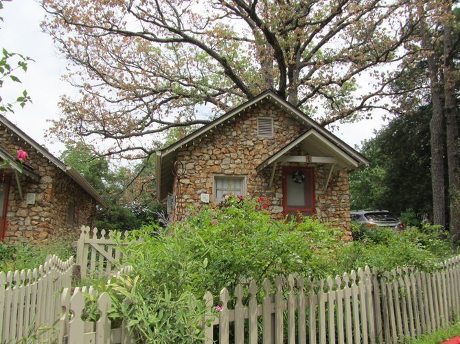 """My ideal little house"" - Eureka Springs, AR"