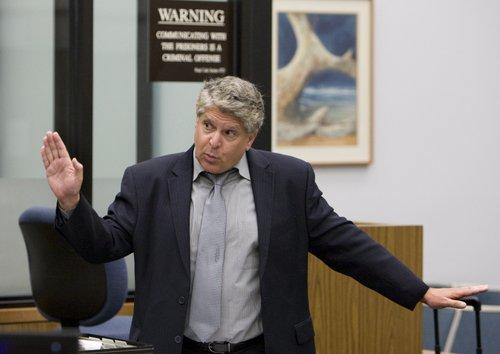 Former attorney, Michael Theodore Pines.  Photo Nick Morris.
