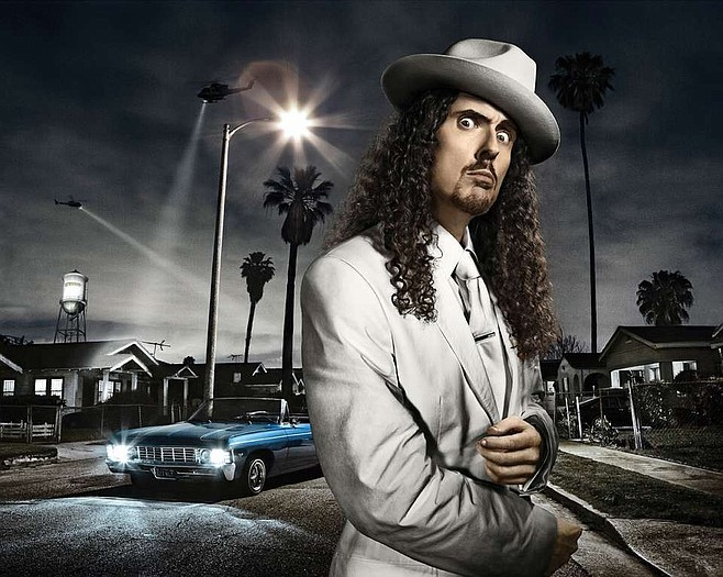 Ape-rock accordionist Weird Al wraps up this year's fair on Wednesday.