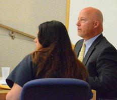 Maraglino and attorney Sean Leslie.