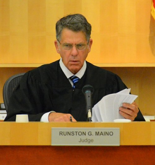 Judge Maino will allow limited access to certain pages.  Photo Bob Weatherston