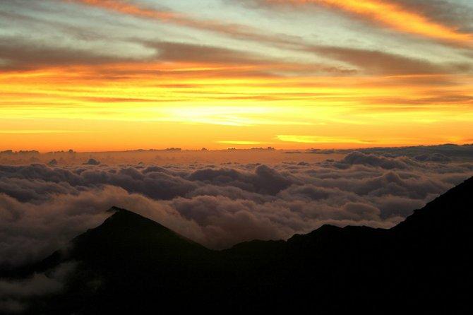 sunrise atop Haleakala
