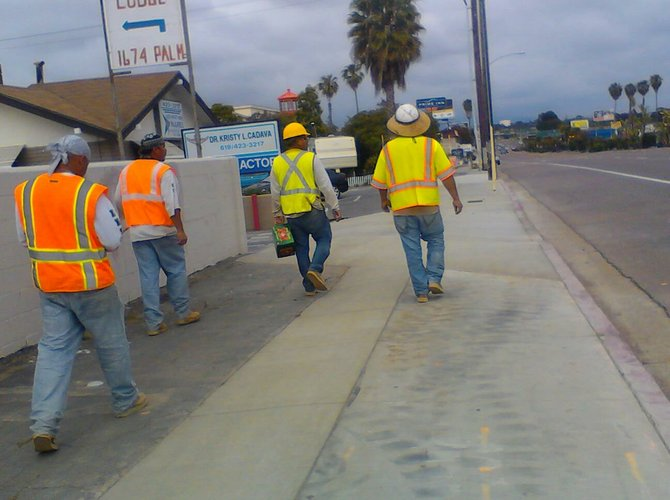 """Imperial Beach, CA. """"These guys are ready for a break..."""""""