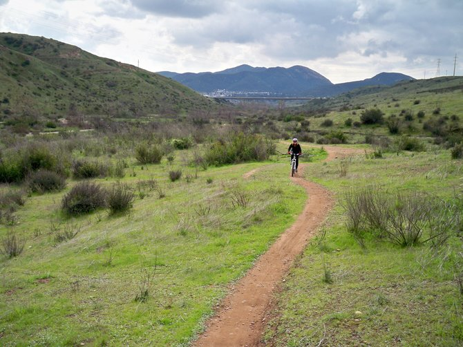 A beautiful day for a mountain bike ride at Mission Trails