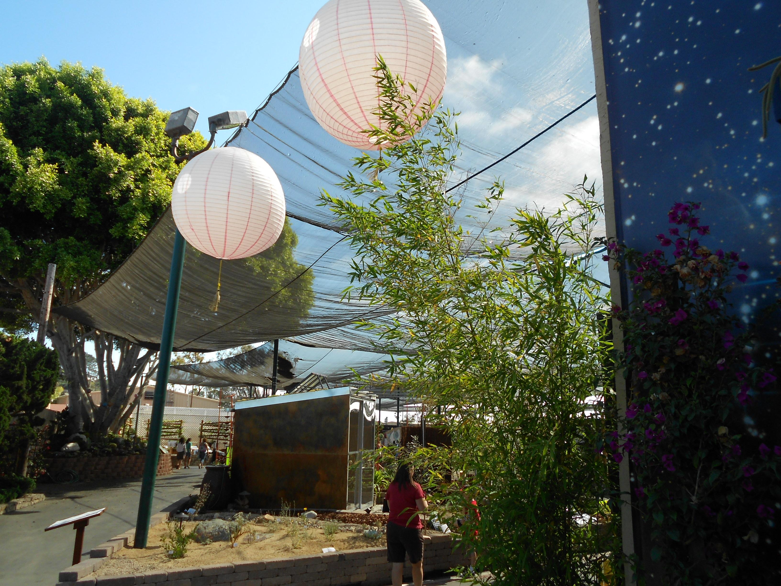 Garden Exhibit at Del Mar Fairgrounds.