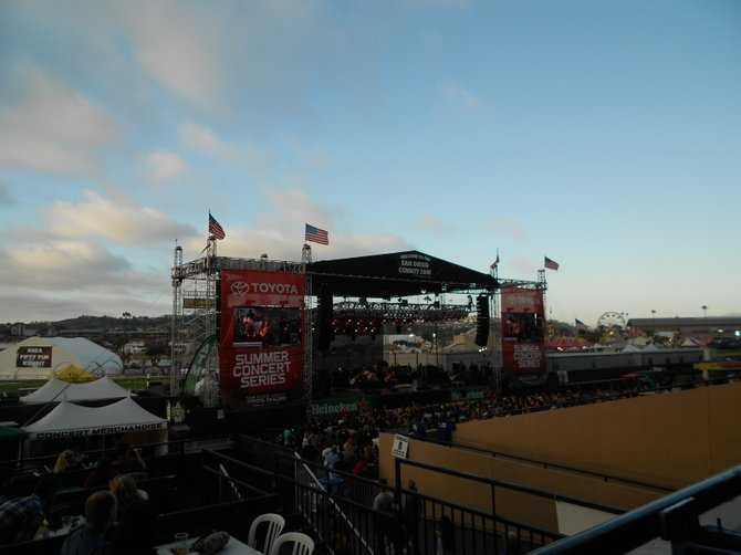 Summerland Tour at Grandstand Stage, Del Mar.