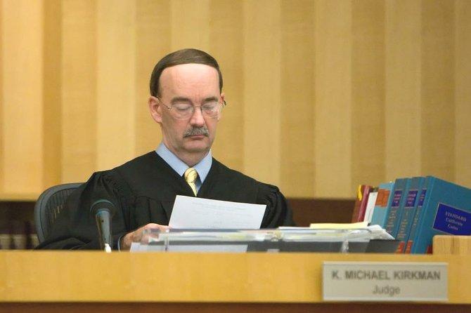 Judge Kirkman.  Photo Bob Weatherston.