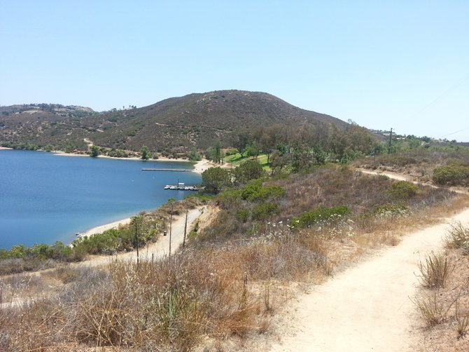 View of Lake Poway