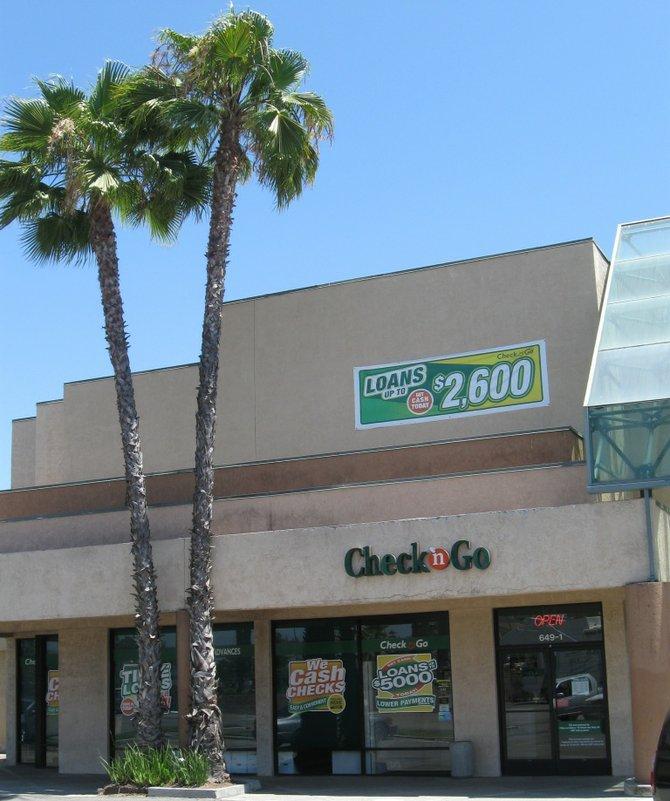 Unauthorized cash advance alleged. Photo Bob Weatherston.