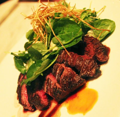 Steaks look and taste great, but deserve a side dish built into their high going rates.