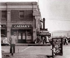 Caesar&#39;s Place, southeast corner of Revolución and Second. Archives of <a href=