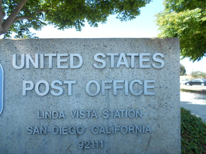 Nice post office in Linda Vista.