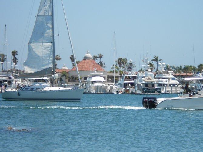 Beautiful day on San Diego Bay.
