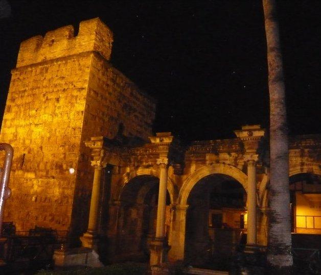 nighttime Kaleiçi