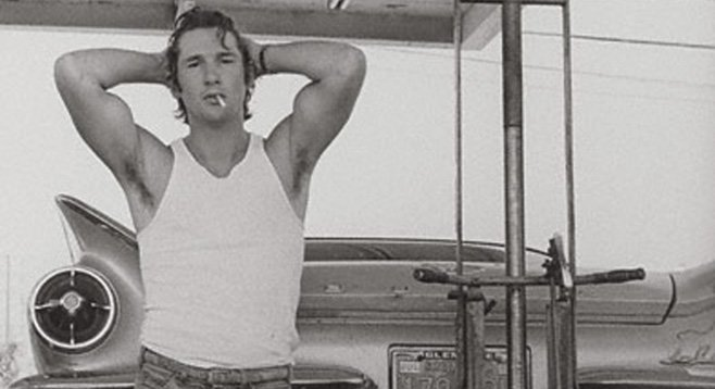 Photo of Richard Gere by Herb Ritts