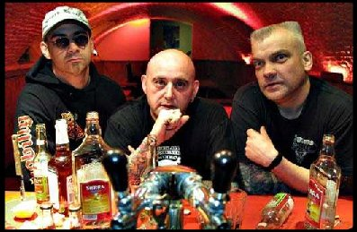Psychobilly trio the Meteors hit Brick by Brick Wednesday.