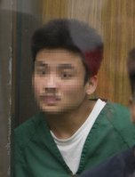Fourth suspect in home invasion case. Photo Nick Morris.