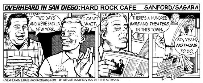 Overheard in San Diego photo