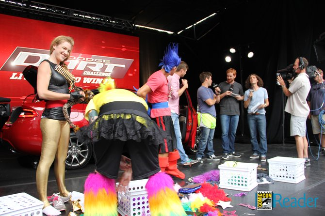 4 contestants have to live in this Dodge Dart for 4 days for a chance to win it. Hosted by the cast of Workaholics.