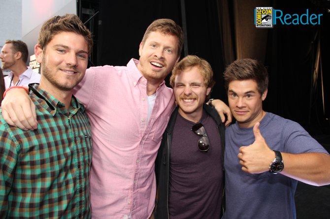 Tyler, Ders, Dan, and Adam.
