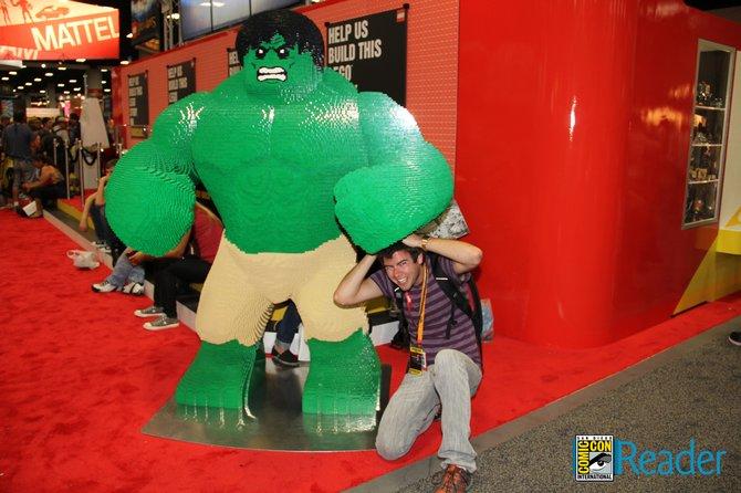 Lego Hulk Smash!