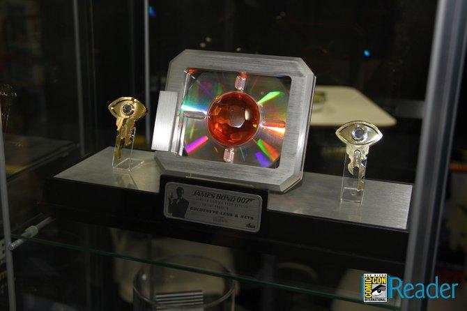 The GoldenEye key.