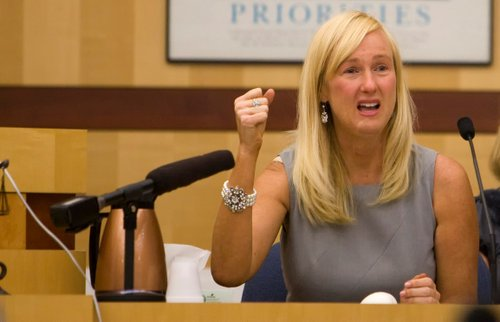 Kendra Beebe testified about the attack during the trial.  Photo Nick Morris.