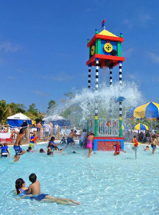 Staying Cool at Legoland Water Park, Carlsbad CA