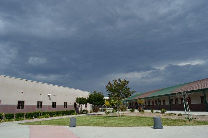 Tropical Clouds in July, Otay Ranch High School, Chula Vista, California
