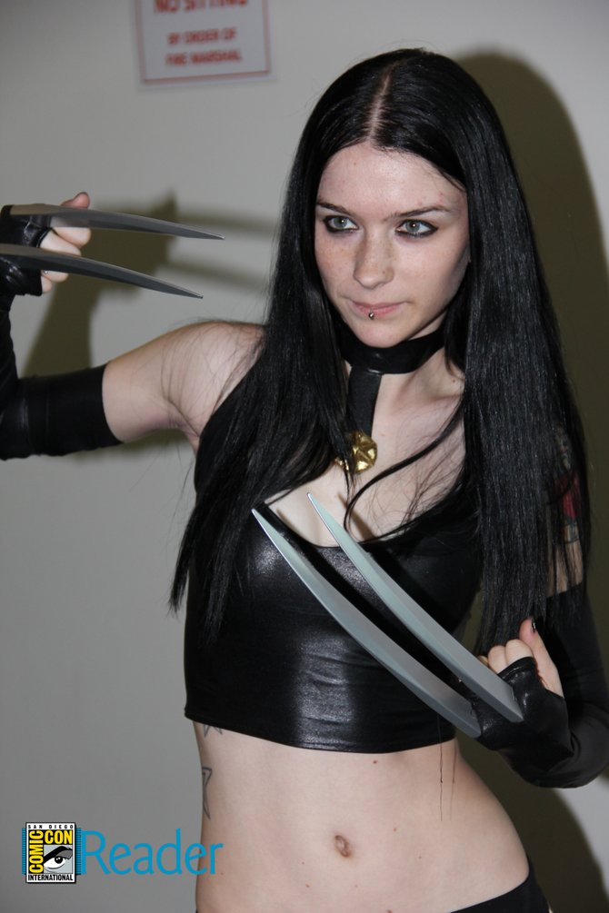 Lady Wolverine? Any ideas?