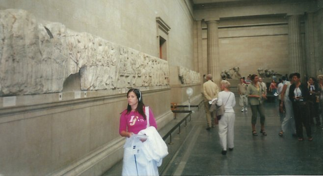 British Museum, next to the museum's/Greece's Parthenon Marbles. (Depending on who you ask.)