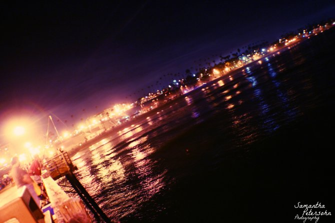 Oceanside Pier at night is simply beautiful!