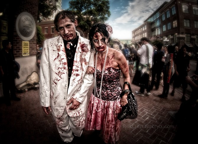 Zombie Walk Friday the 13th